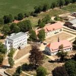 Luftbild Schlosskomplex